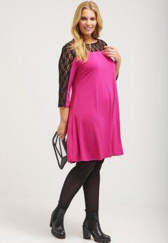 Dorothy Perkins Curve - Vestito di maglina - pink