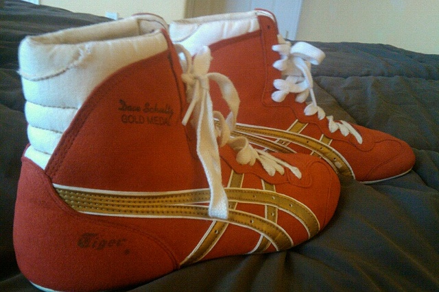 Dave Schultz Wrestling Shoes