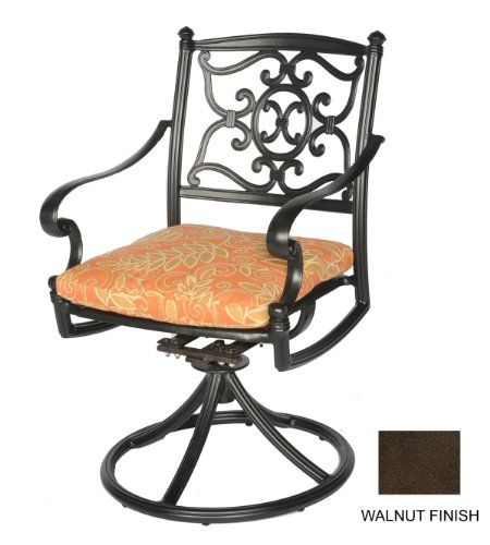 Special Offers - Meadow Decor 2623-58 Kingston Patio Swivel Rocker Chair Walnut For Sale - In stock & Free Shipping. You can save more money! Check It (January 04 2017 at 05:36PM) >> http://gardenbenchusa.net/meadow-decor-2623-58-kingston-patio-swivel-rocker-chair-walnut-for-sale/