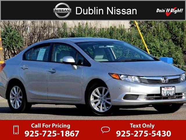 2012 Honda Civic EX $12,500  miles 925-725-1867 Transmission: Automatic  #Honda #Civic #used #cars #DublinNissan #Dublin #CA #tapcars