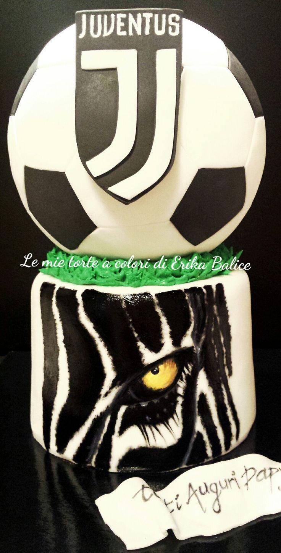 Juventus cake fondant