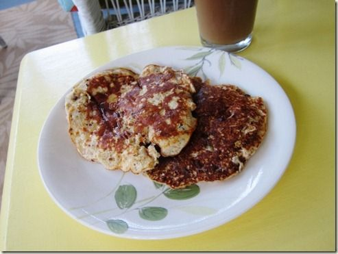Carrot Cake Protein Pancakes | Healthier foods | Pinterest