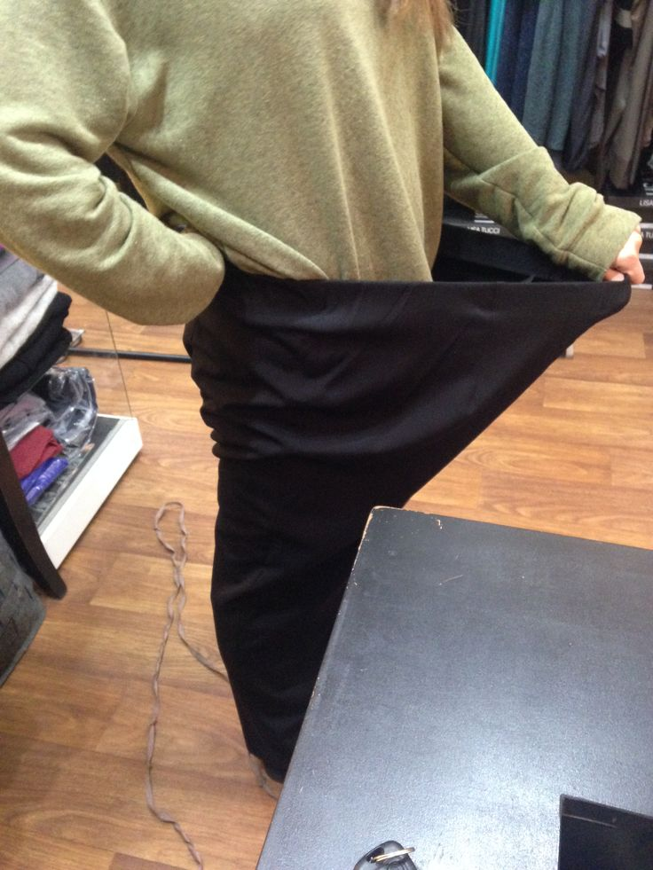 Every girl needs a pair of black trousers.  Whatever the size!