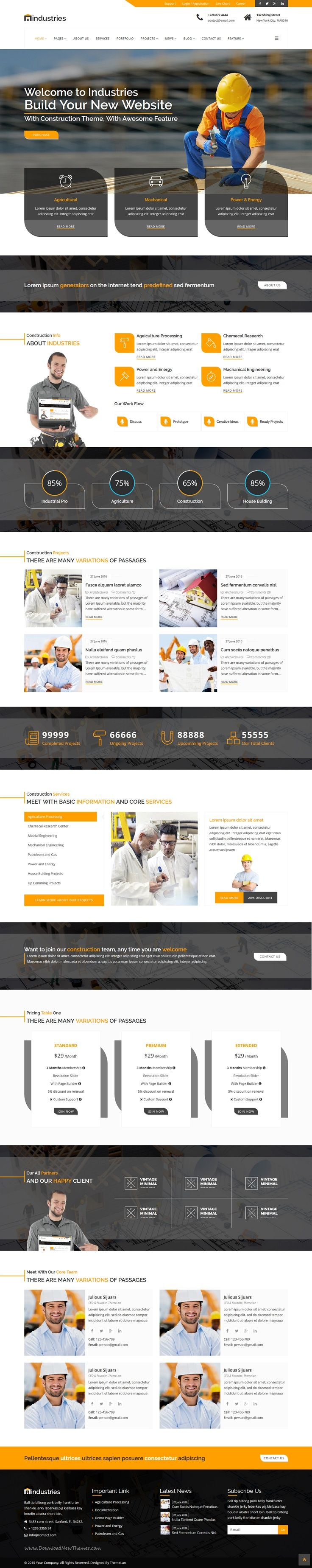 Industries is an clean coding premium #Joomla #template for industrial and #construction building company website download now➯ https://themeforest.net/item/industries-industrial-construction-joomla-business-template/17011592?ref=Datasata