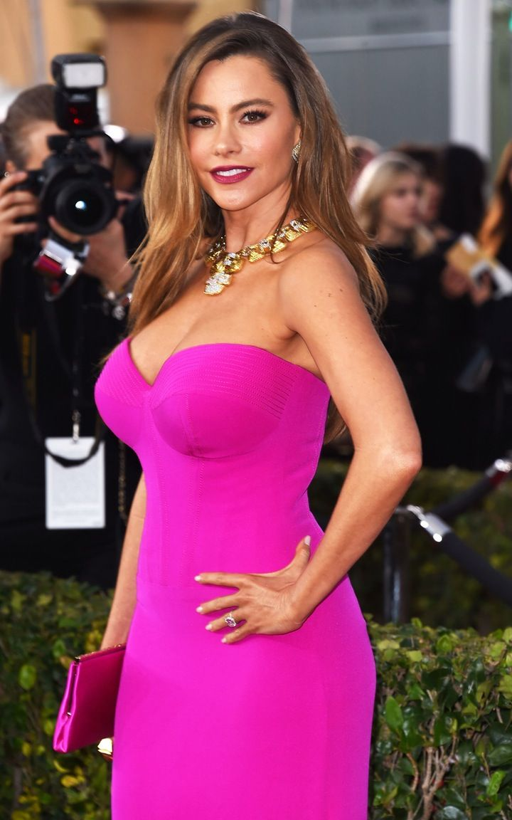 """""""I Bleed"""": Sofia Vergara Admits Red Carpet Dresses are Super Uncomfortable Due to Her """"Voluptuous"""" Body"""