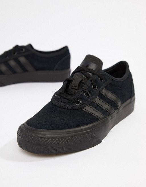 709064c0864 adidas Skateboarding Adi-Ease Sneakers In Triple Black