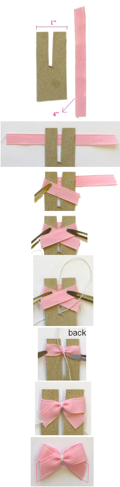 Perfect bow - what a perfect idea!