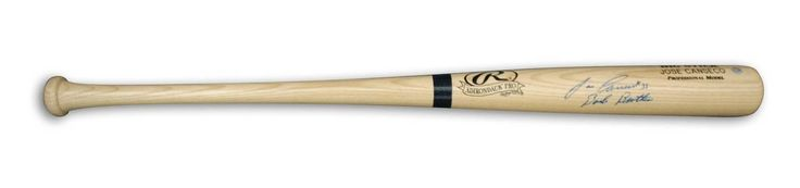"""Jose Canseco Autographed Rawlings Big Stick Bat Inscribed """"Bash Brother"""""""