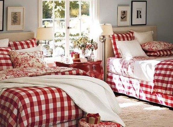 find this pin and more on master bedroom decorating ideas canadian themed winter cabin - Red And White Bedroom Decorating Ideas
