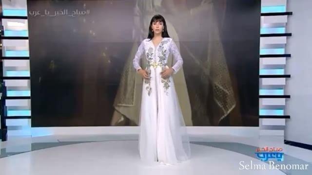 Chasing uniqueness … Always #sbcreation  #سلمى_بنعمر #لجين_عمران #صباح_الخير_يا_عرب #رمضان_2016 #القفطان_المغربي  #سلمى_بن_عمر #loujain_omran #unique #ramadan2016 #Flora #Luxury  #caftan #celebrity  #diva  #fashion #style #stylish #outfitoftheday #instafashion #swag #dress #outfit e #jewelry #shopping #glam  #hautecouture #handmade #cape  #sbcreation #selmabenomar