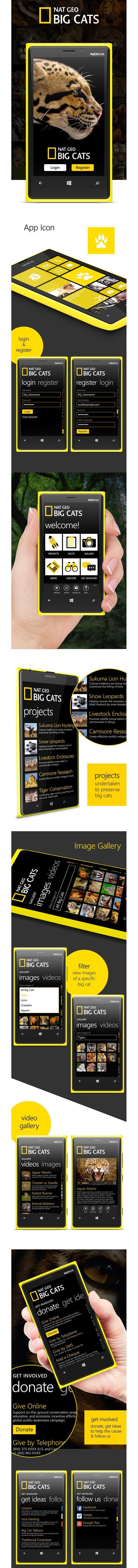 National Geographic Big Cats – Windows App