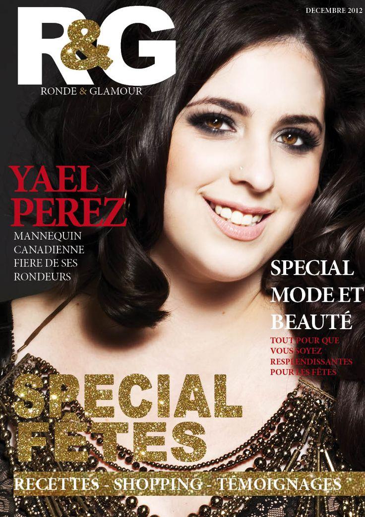#cover #magazine #ronde #glamour #plussize #yael #perez