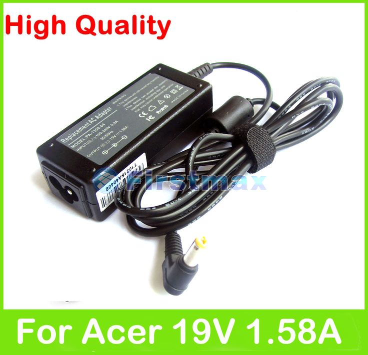 19V 1.58A laptop charger For Acer Aspire One A110 A150 D210 D250 D255 D255E D257 D260 E100 D150 D250 ac adapter