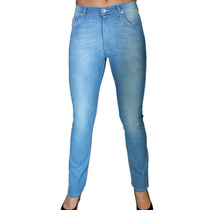 SEI Ψηλόμεσο πετροπλυμένο παντελόνι με τρούκ