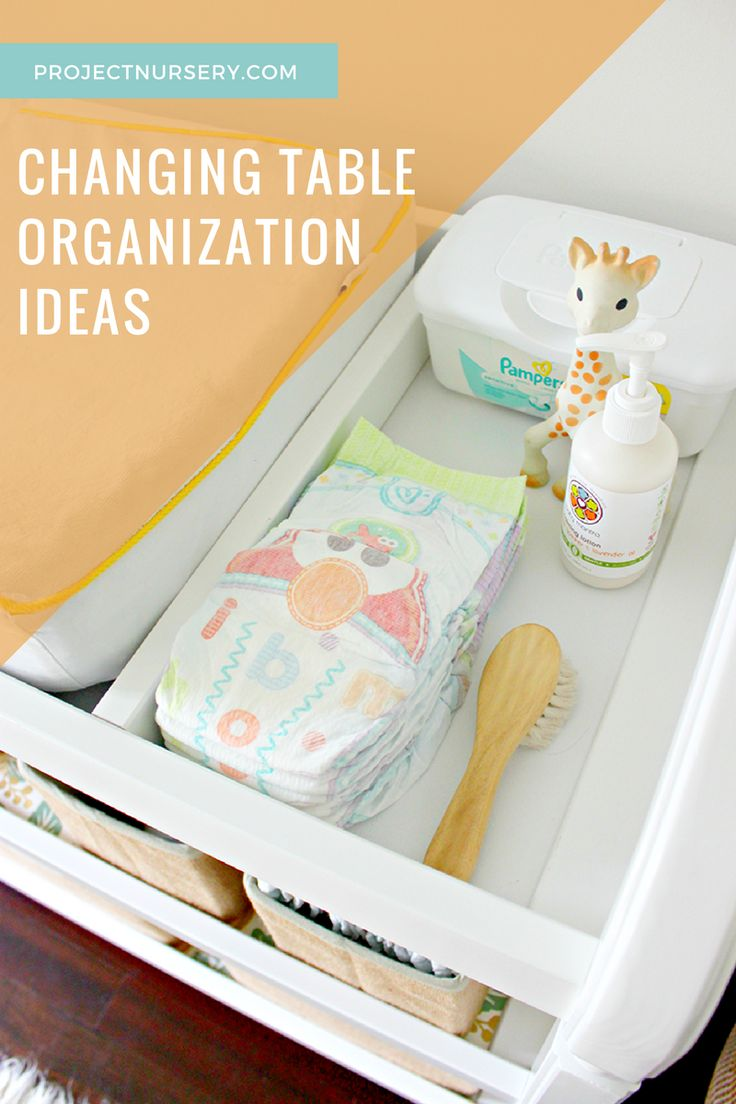 set your changing table up for success changing table organizationnursery organizationorganization ideasnursery