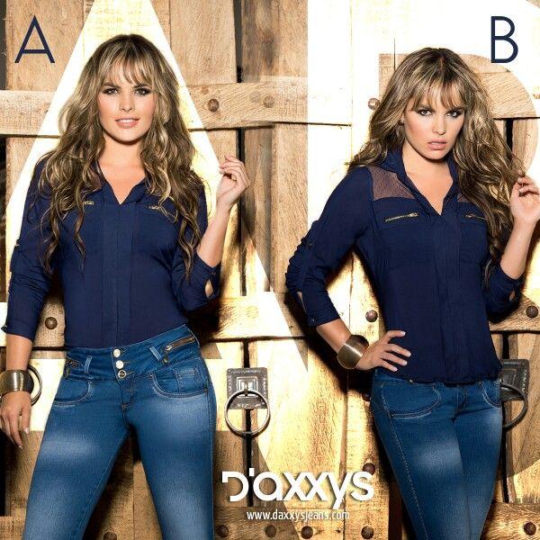 #TipsDaxxys ¿Cómo verte divina con prendas casuales? Utiliza un Jean de tipo alto bota tubo y combínalo con una blusa de color oscuro ya sea dentro o fuera del pantalón. Completa tu outfit con unos tacones y listo.