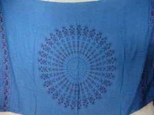 blue peakcock feather mandala sarong urban clothing wholesale $5.25 - http://www.wholesalesarong.com/blog/blue-peakcock-feather-mandala-sarong-urban-clothing-wholesale-5-25/