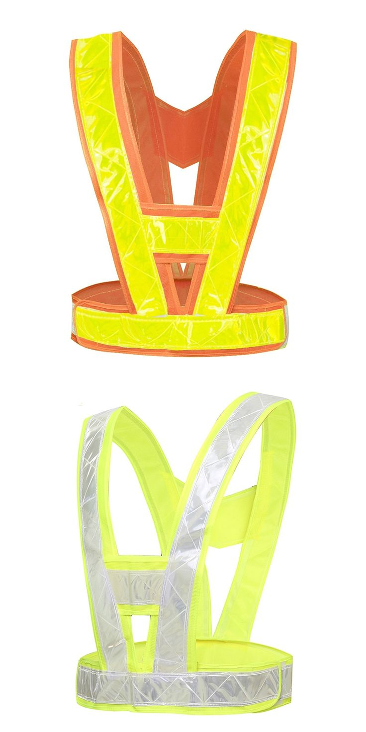 Police vests Highlight lattice Cycle road traffic safety campaign Safety Clothing Fluorescent vest