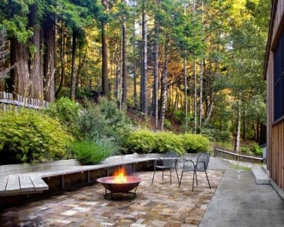 fireplace idea from rustic patio design and furniture ideas rustic patio design and furniture ideas - Rustic Patio Ideas