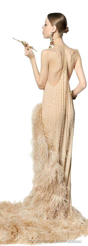 Long dress 1920s zeitgeist