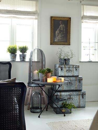 Decorar con complementos de zinc en tu casa #zinc #estilonordico