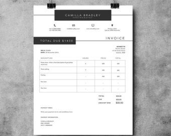 Microsoft Word Invoice Best  Printable Invoice Ideas On Pinterest  Names Of Music  Free Invoice Forms Templates Word with Invoice Samples Free Word Invoice Template Invoice Design Receipt Ms Word Invoice Gift Receipt Amazon Pdf