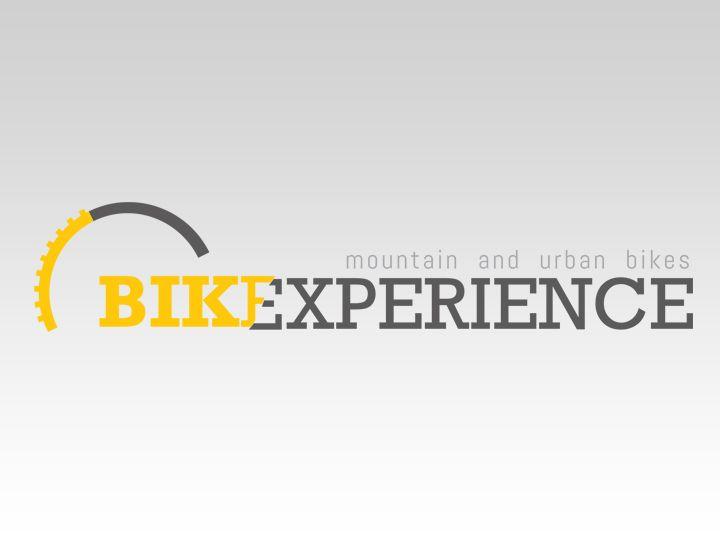 Logotipo para deportistas, amantes de las bicicletas, tanto de montaña como de paseo: Bikexperience, by Blanca Marcet, from MediaGrafics