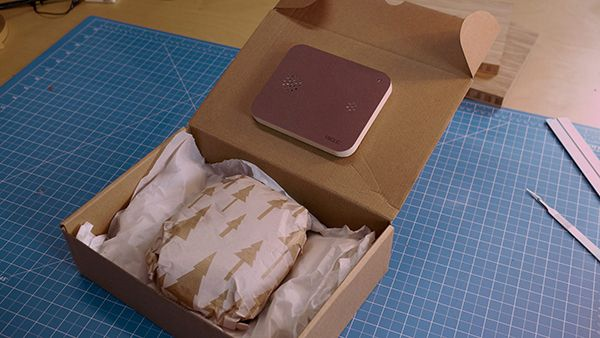 Device Lets You Be There When You Give a Long-Distance Gift
