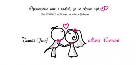 Svatební oznámení 29