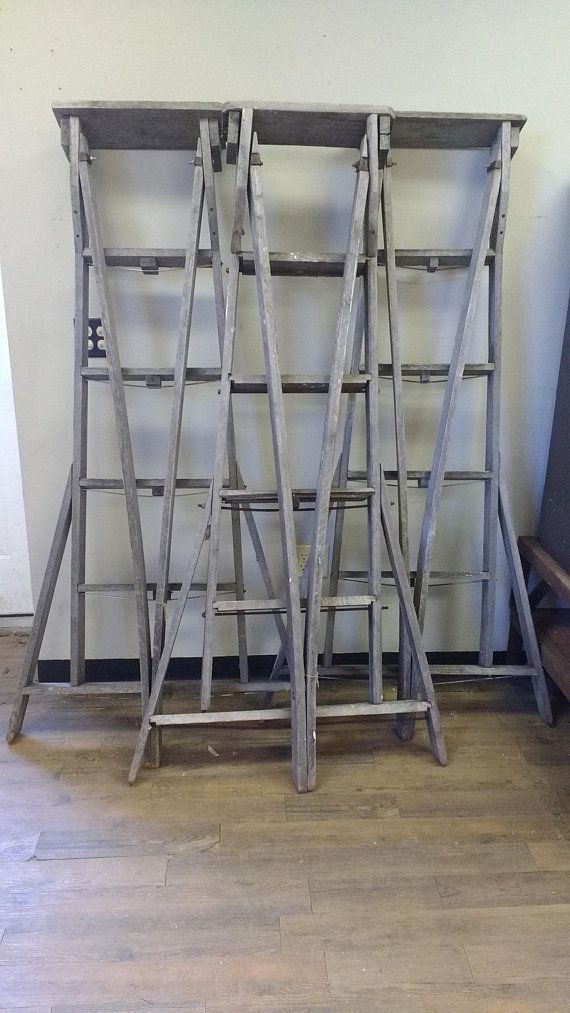 Wooden Ladder Authentic Apple Orchard Ladders Old Vintage Wooden Ladder Wooden Vintage