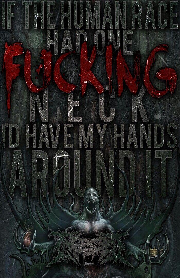 Ingested Narcissistic Apathy Band Lyrics Pinterest Lyrics Interesting Slam Metal Quotes