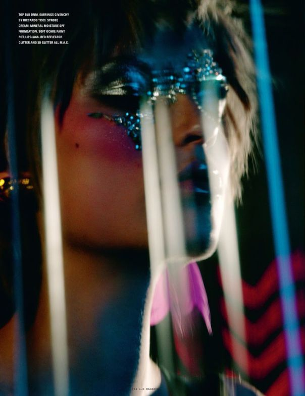 Dazzling Discotheque-Inspired Editorials : i-D mag Spring 2014