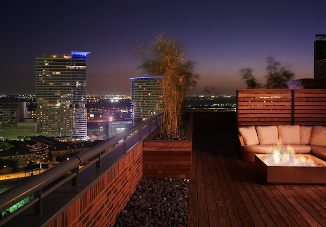 Outdoor space with a beautiful view
