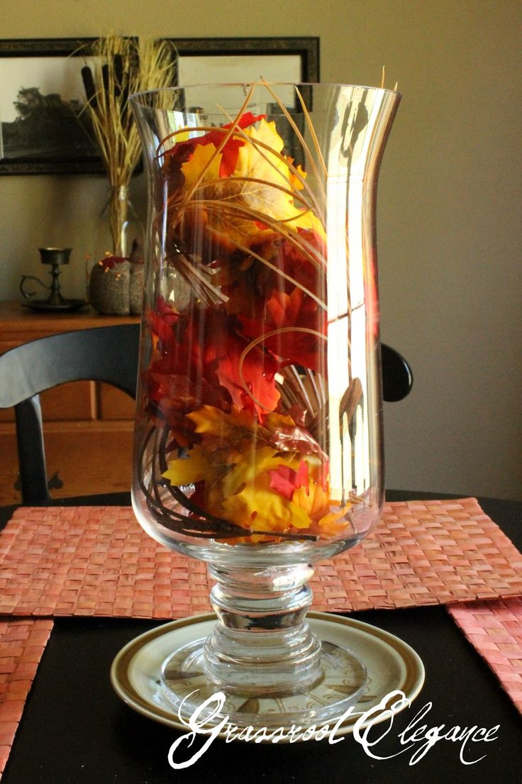 Endearing fall dining table decoration with beautiful