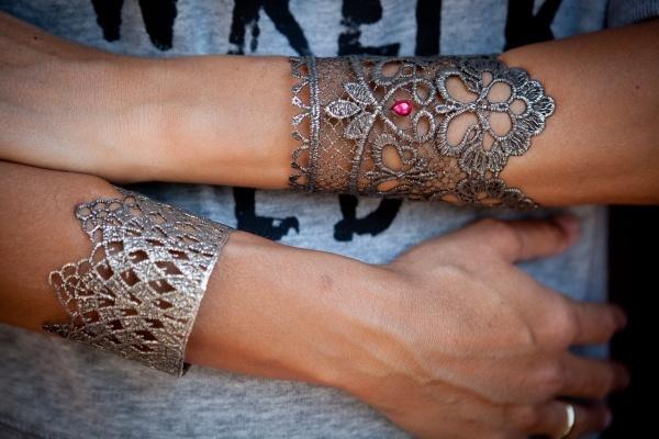 Utopia cuffs by Elena Kougianou!!  love them all
