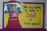 Have A Ball Bubble Gum Bulletin Board | MyClassroomIdeas.com