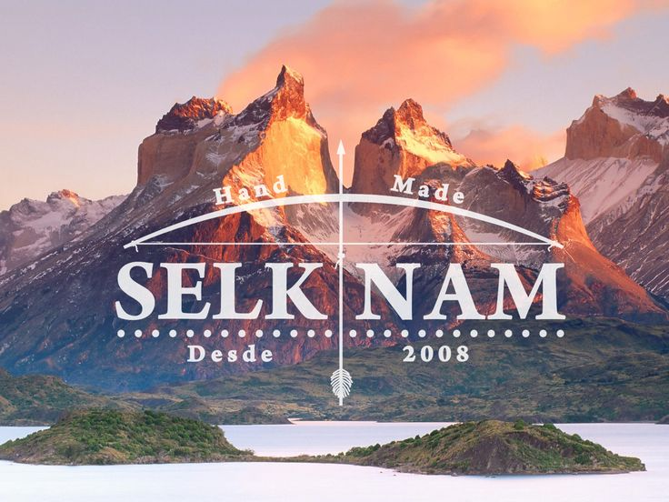 Our beautiful logo , along with the Fine Torres del Paine. <3