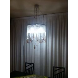 Wrought Iron Chandelier. Customize Realisations. 261