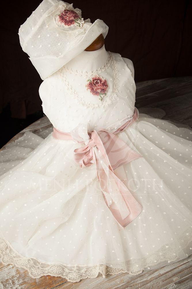 Βαπτιστικό ρούχο για κορίτσι της cat in the hat - Ivonne