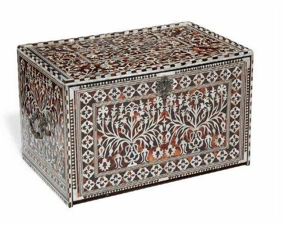 Rare cabinet ottoman, 17ème siècle