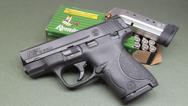 Smith and Wesson M&P Shield 40 Review - On The Range Find our speedloader now!  http://www.amazon.com/shops/raeind