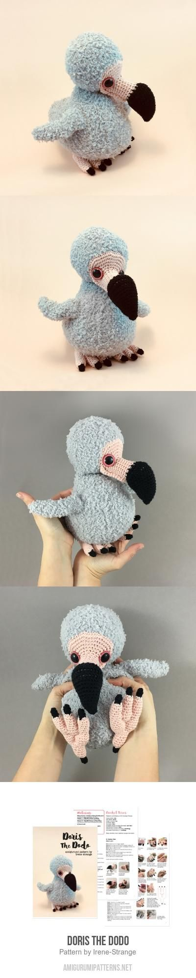 Doris The Dodo Amigurumi Pattern