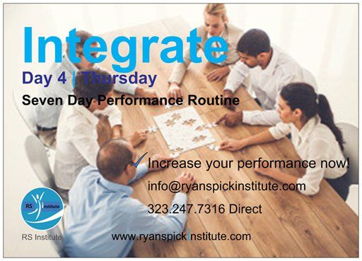 #Day #Thursday #Integrate #Routine #Achieve #Goal #Potential