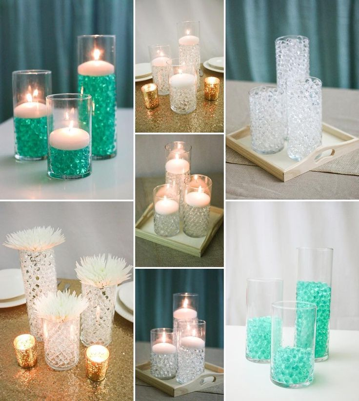 Affordable Wedding Centerpiece Ideas: De 20+ Bästa Idéerna Om Water Beads Centerpiece På