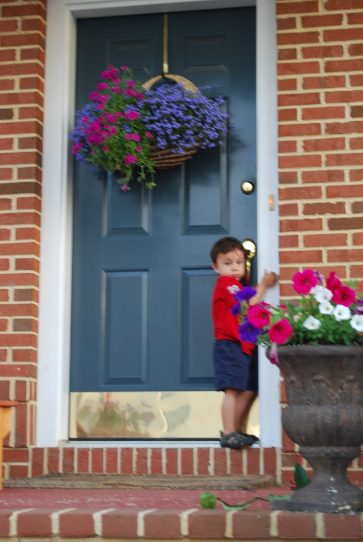 17 Best Images About Front Door Flower Baskets On Pinterest Cabbages Summer Wreath And Hanging Baskets