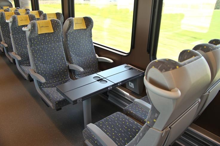 Seats on economy class of Leo Express in Czech Republic  http://centraleasteurope.blogspot.hu/