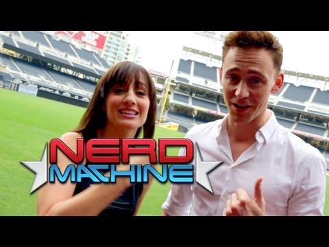 Tom Hiddleston - Exclusive Interview - Nerd HQ (2013) HD - Alison Haislip. He needs to stop being a f*ing gentlemen and adorable cuz I actually can't take it