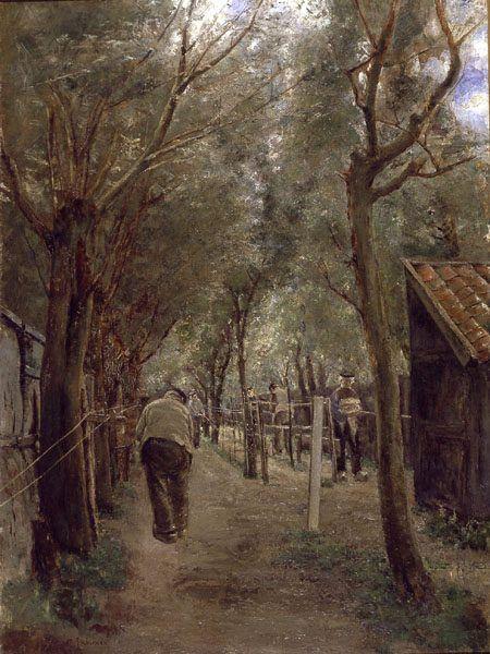 Max Liebermann: Seilerbahn, 1887