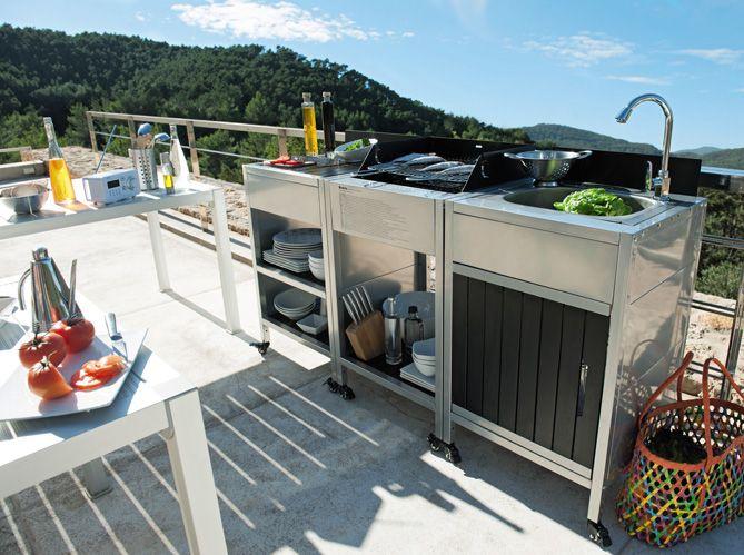 Superior Barbecue La Foir Fouille #5: Cuisine Exterieur La Foir Fouille | Déco Extérieur | Pinterest | Rooftop  Gardens, Rooftop And Kitchens