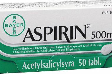 Aspirin je v případě iktu důležitější, než jsem si mysleli, přiznávají lékaři